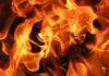 В столичном микрорайоне «Асанбай» произошел пожар