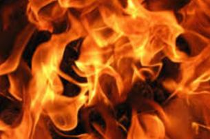 В Аксы в пожаре погиб мужчина