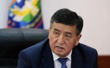 Сооронбай Жээнбеков стал кандидатом в президенты от СДПК