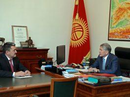 Алмазбек Атамбаев: Необходимо вернуть Бишкеку славу города-сада