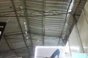 Из-за обильных осадков на рынке «Дордой» может обрушиться крыша