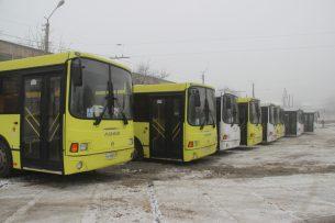 В Ош поступило 30 новых автобусов стоимостью более 2,5 млн евро