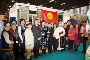 Кыргызстан принял участие на ежегодной выставке-ярмарке «Bazaar-Berlin»