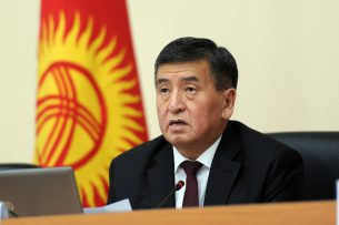Сооронбай Жээнбековне выдвинет кандидата на должность мэра Бишкека