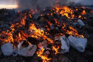 Эколог: Сжигать мусор – вредно для здоровья
