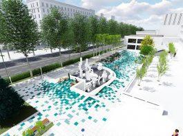 «Бишкекглавархитектура» показала, каким станет фонтан «Сказка» после обновления