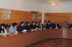 В Караколе прошло заседание координационного совета международных проектов и доноров