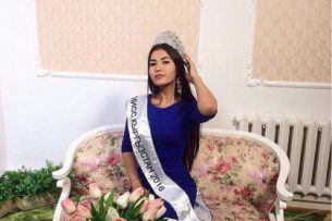 Видеообращение Перизат Расулбек кызы на конкурсе «Мисс мира-2016» в Вашингтоне