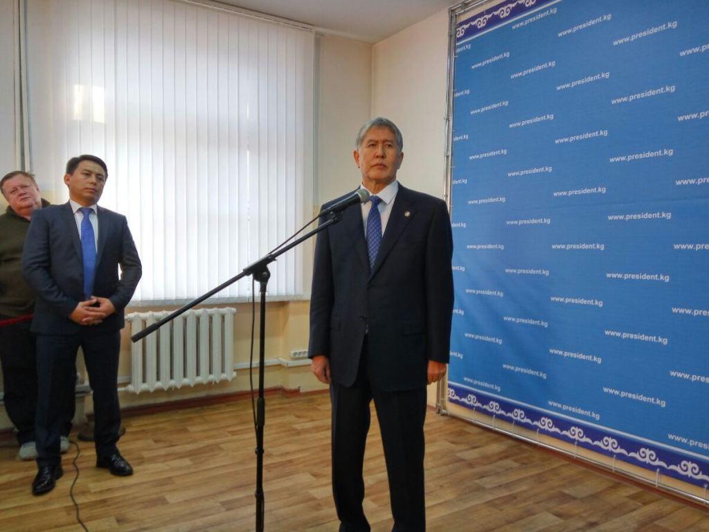 Президент Киргизии хочет укрепить независимость страны засчет референдума