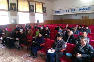 Госкомиссия по делам религий рассмотрела обращение баптистов в Джалал-Абадской области