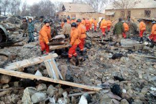 Крушение Боинга: Спасатели приступили к разбору завалов