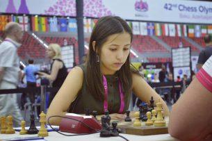 Две кыргызстанки принимают участие в международном конкурсе «Самая красивая шахматистка»