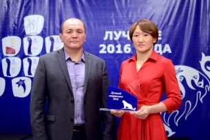 Айсулуу Тыныбекова признана лучшим спортсменом по олимпийским видам спорта