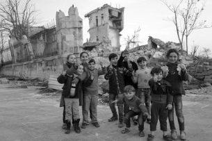 Жизнь на руинах восточного Алеппо (фото)