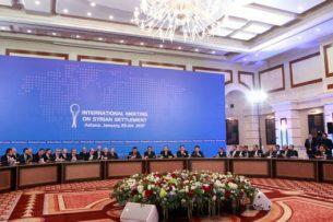 Переговоры по Сирии в Астане начались со взаимных обвинений