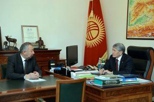Алмазбек Атамбаев поручил минимизировать потенциальные риски разрушений в результате ЧС