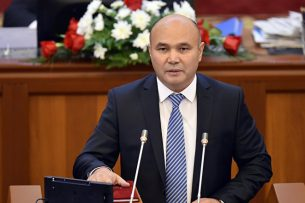 Данияр Толонов избран вице-спикером парламента