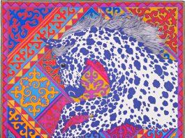 Французский дом моды Hermes выпустил платки с кыргызским орнаментом