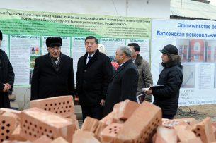 В Баткене строится современная биофабрика