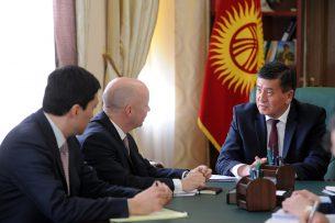 Жээнбеков призвал ЕБРР принять участие в капитализации Фонда подготовки проектов
