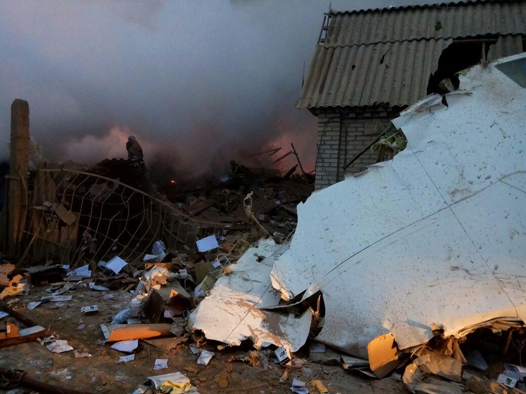 Количество погибших в итоге крушения самолета достигло 28 человек,