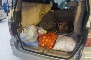 Бишкекчане собрали более 9 тонн гумпомощи пострадавшим от авиакатастрофы