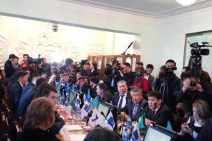 Словесная перепалка между депутатом БГК и членом ТИК (видео)