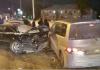 В России водитель из Кыргызстана спровоцировал массовую аварию