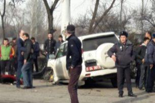 Кыргызская милиция попросила посольство РФ помочь в расследовании ДТП