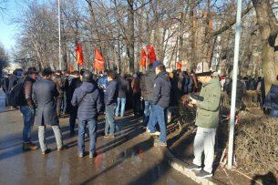 Задержание Текебаева: митингующие соберутся завтра у «Белого дома».