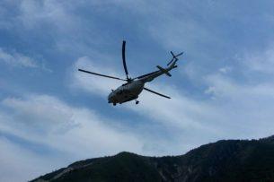 В Казахстане разбился частный вертолет, есть жертвы