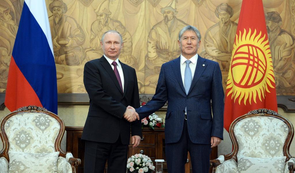Путин получил вКиргизии особый подарок сподковами