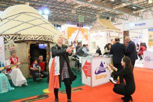 Стенд Кыргызстана признали самобытным на туристической выставке в Турции