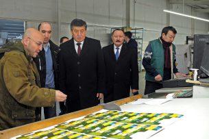 СЭЗ «Бишкек» экспортировала на 2 млрд сомов в 2016 году