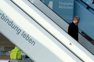 Алмазбек Атамбаев прибыл в Мюнхен