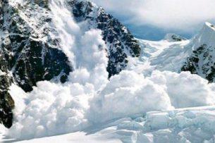 Осторожно: Снежные лавины могут сойти на автодорогах Кыргызстана