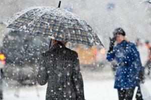 снег в Кыргызстане