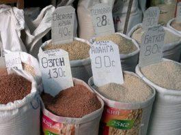 Средние цены на основные продукты питания в государствах — членах ЕАЭС