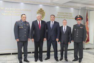 Главы МВД России и Кыргызстана обсудили вопросы сотрудничества