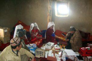 Памирские кыргызы страдают от инфекций и суровых погодных условий