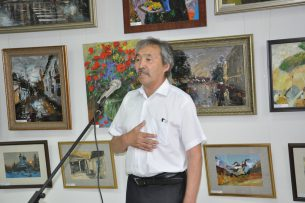 «РСК Банк» поздравляет заслуженного деятеля культуры КР Базарбека Сыдыкова с государственной наградой