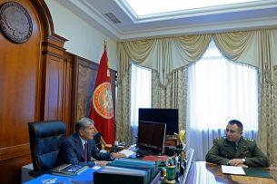 Атамбаев и Дуйшенбиев обсудили военно-техническое сотрудничество Кыргызстана с зарубежными партнерами