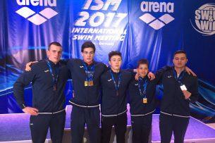 Кыргызские пловцы установили новые рекорды на соревнованиях в Берлине
