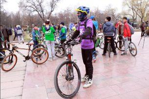 В Бишкеке открыли велосезон