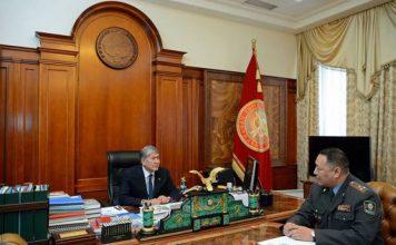 Президент и глава МВД обсудили уровень доверия граждан к милиции