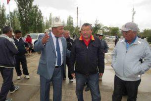 Аттокур Тажибаев освобожден от должности акима Узгенского района