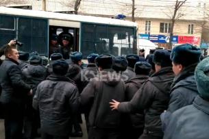 Центр по предупреждению пыток занимается вопросом содержания задержанных во время марша в приемнике-распределителе
