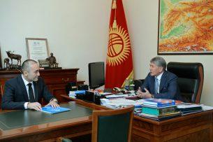 Илим Карыпбеков рассказал президенту о планах по развитию ОТРК