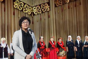Министр соцразвития приняла участие в мероприятии «А ну-ка бабушки!»
