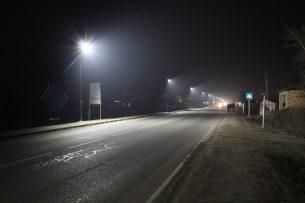 В Кара-Суйском районе установили уличное освещение на грантовые 1,5 млн сомов